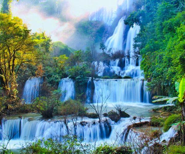 น้ำตกที่สวยงาม น่าเที่ยว บอกเลยว่าสายเดินป่ารักธรรมชาติไม่ควรพลาด