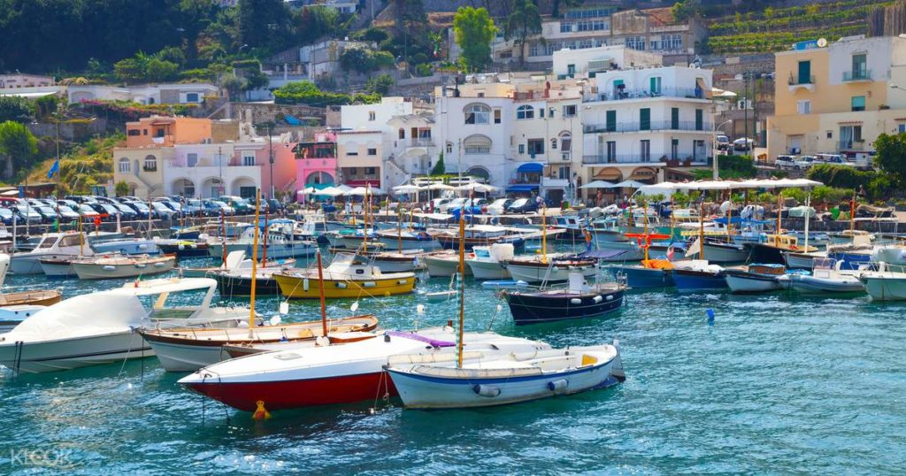 เที่ยวอิตาลี -เกาะ Capri