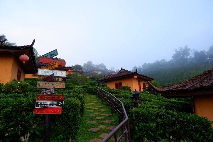 บ้านรักไทย หมู่บ้านจีนยูนนาน