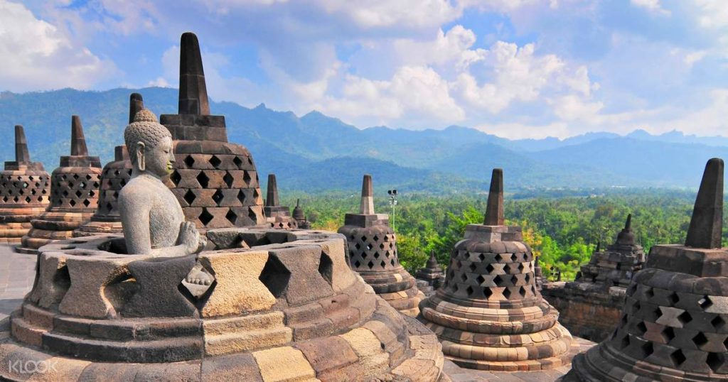เที่ยวประเทศอินโดนีเซีย-โบโรบูดูร์