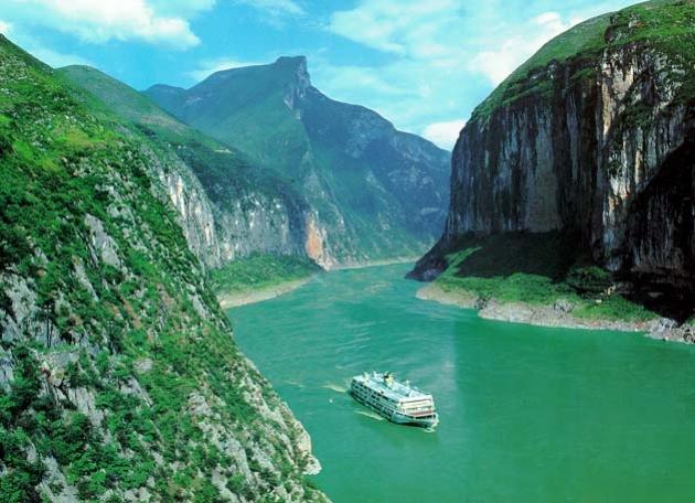 ล่องเรือเที่ยวแม่น้ำแยงซีเกียง