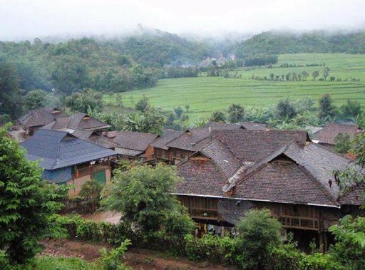 บ้านชนเผ่า-ชุมชนไทเขิน บ้านสันก้างปลา จังหวัดเชียงใหม่