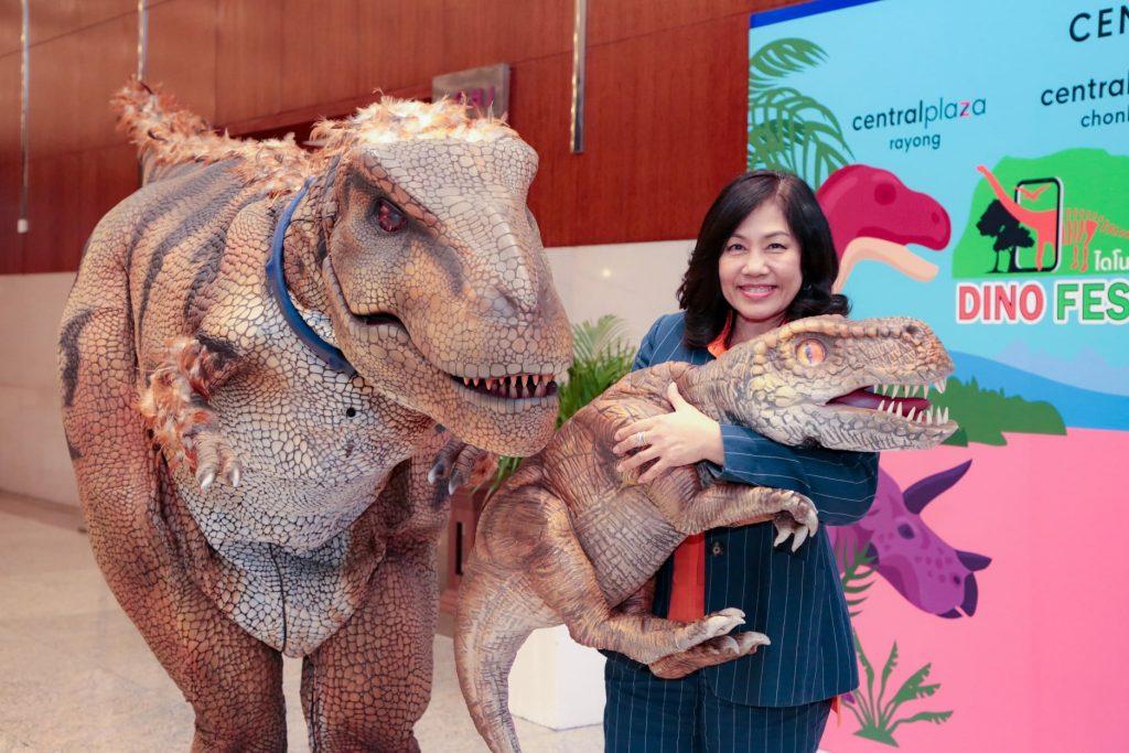 เที่ยวงาน Dino Fest 2020-สร้างการผจญภัยให้กับนักท่องเที่ยว