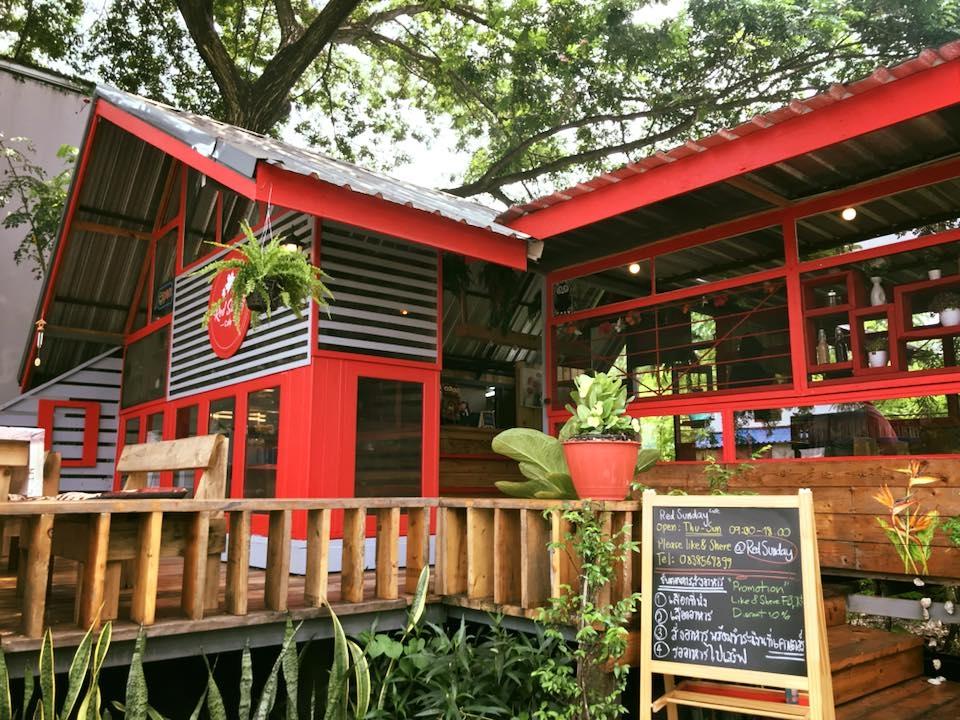 เที่ยวคาเฟ่บางแค-Redsunday Cafe