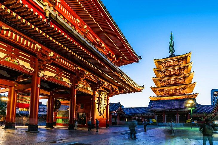 เที่ยวโตเกียว-เที่ยวชมวัดเซ็นโซจิ  3