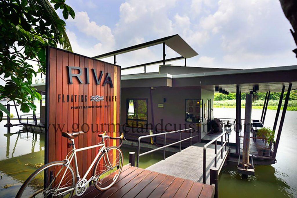เที่ยวจังหวัดนครปฐม-Riva Floating Café