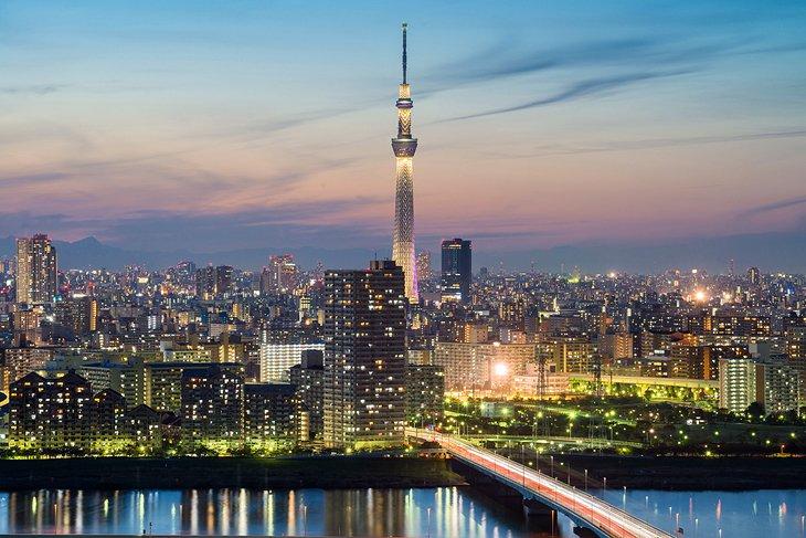 เที่ยวโตเกียว- Tokyo skytree
