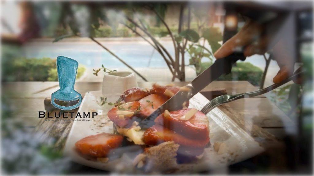 คาเฟ่ ย่านลาดพร้าว- Bluetamp Cafe