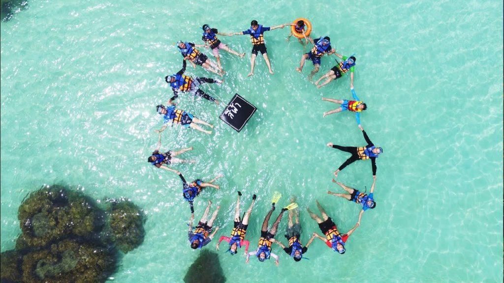 ทริปดำน้ำประจวบคีรีขันธ์-จุดดำน้ำเกาะเหลือม