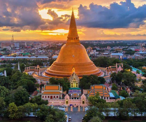 อิ่มกายอิ่มใจกับวันเดียว เที่ยวจังหวัดนครปฐม เที่ยวเมืองไทยใกล้กรุงเทพฯ